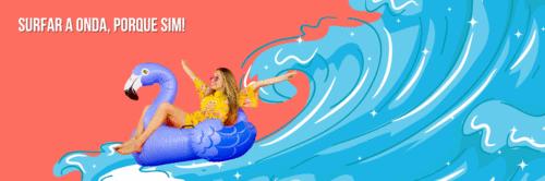 Você surfa na onda?